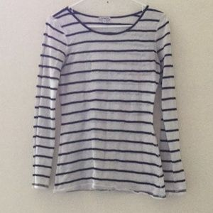 Striped Lacey top
